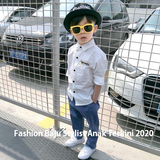 Fashion Baju Stylist Anak Terkini 2020