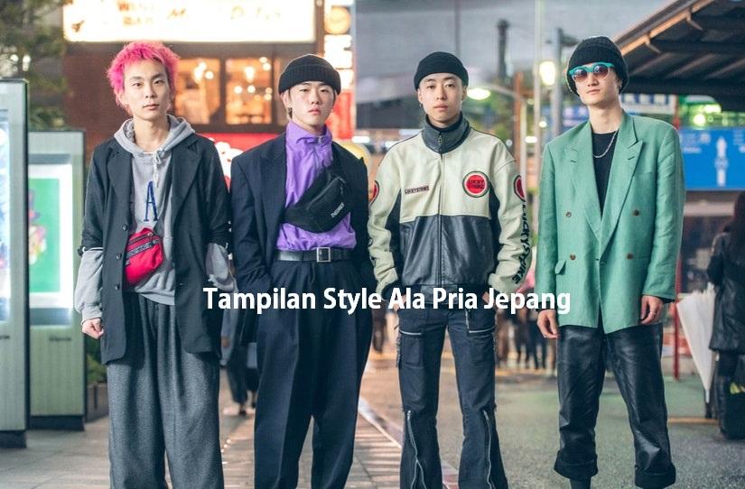 Tampilan Style Ala Pria Jepang