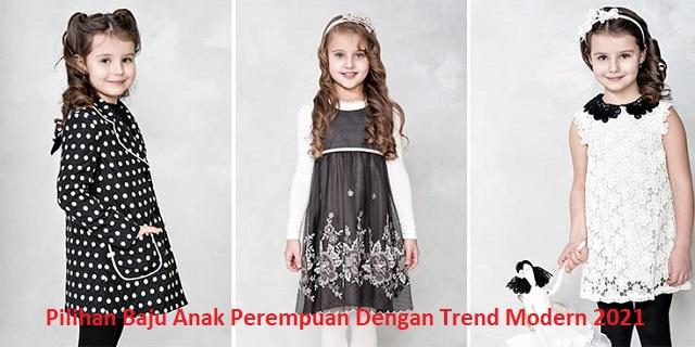 Pilihan Baju Anak Perempuan Dengan Trend Modern 2021